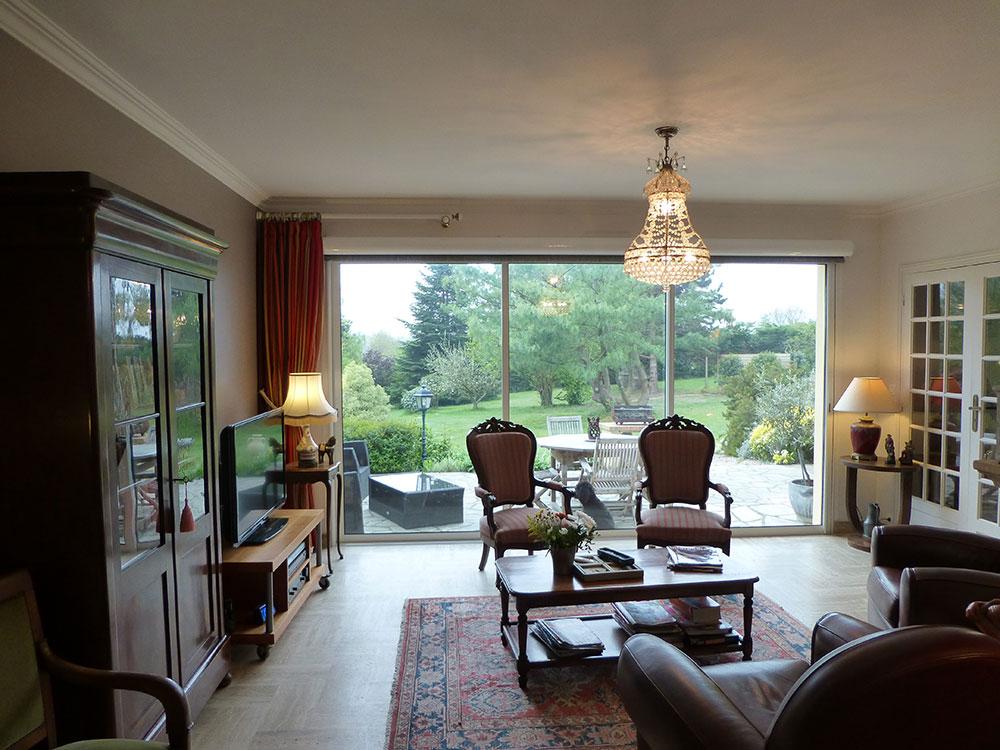 Salle Salon salle, salon et séjour - le clos du pont martin